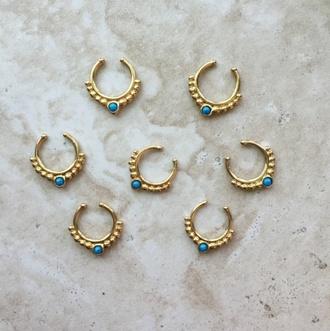 jewels septums gold septums fake septums