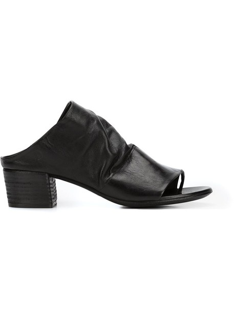 Marsèll women leather black shoes