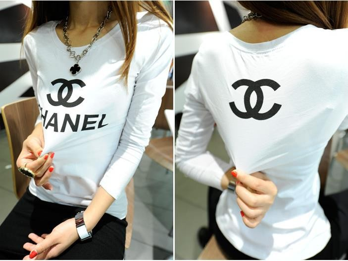 Plus size t shirts new 2014 autumn  summer t shirt women fashion letter printed t shirt woman brand t shirts women clothing sale-in T-Shirts from Apparel & Accessories on Aliexpress.com