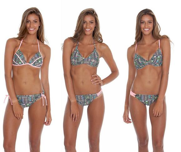 geometric swimwear gossip swim bikini bottoms bikini top bikini tops geometrical