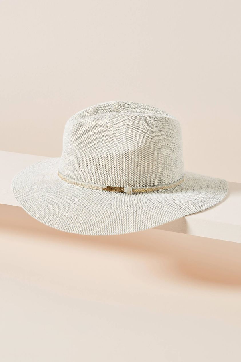 Spencer Trimmed Fedora by Anthropologie in Assorted