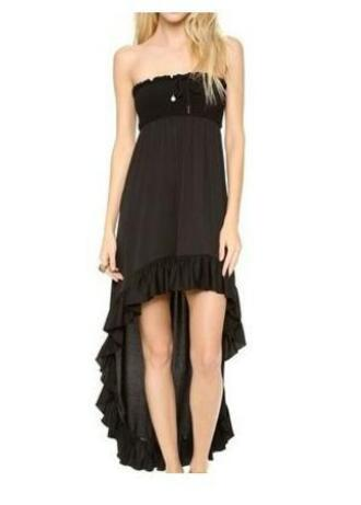dress high low dress strapless dresses juicy couture