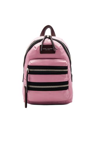 mini backpack pink bag