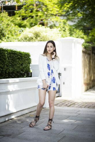 amoureuse de mode blogger romper bag shoes jewels