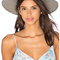 Janessa leone angelica wide brimmed panama hat in silver sage from revolve.com