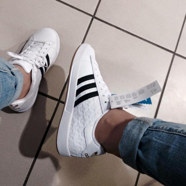Adidas Superstar Trainers Black And White