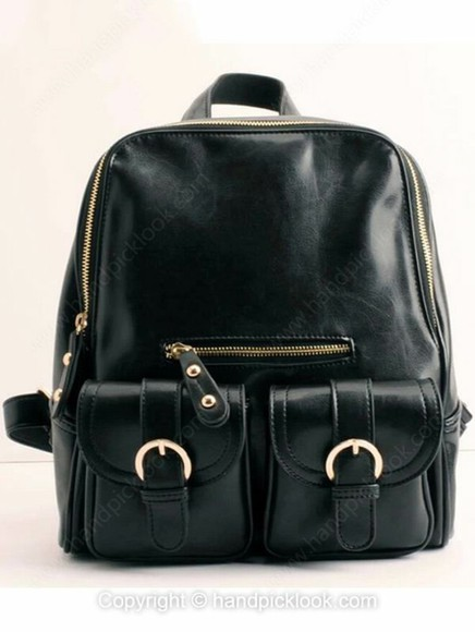 black bag bag backpack accessory