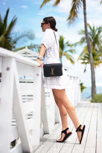 fashion vibe blogger bag dress shoes sunglasses jewels