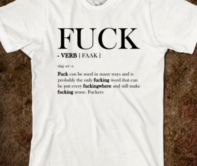 F Word Tutorial Tee