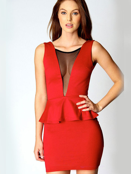dress red dress sexy party dresses clothing women's fashion party dress