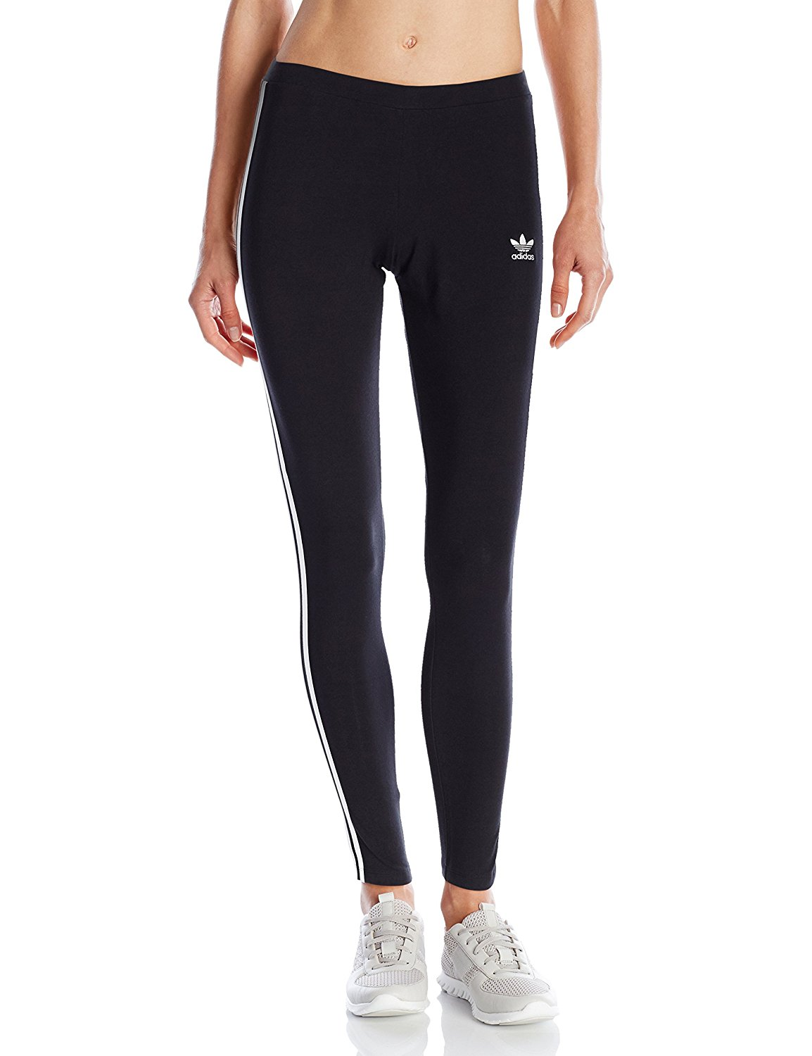 e77f0dd4bc21d adidas Originals Women's 3-Stripes Leggings at Amazon Women's ...