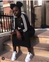 dress,adidas,adidas dress,pencil dress,black dress,name brand