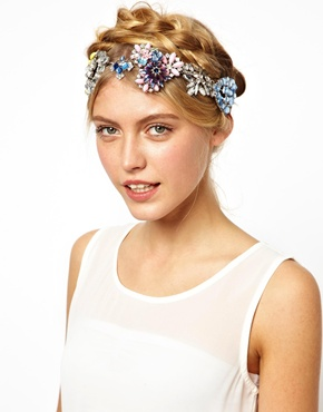 ASOS | ASOS Crown Jewels Headband at ASOS