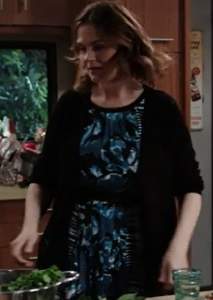 dress,blue,bones tv show,emily deschanel,dr. temperance brennan