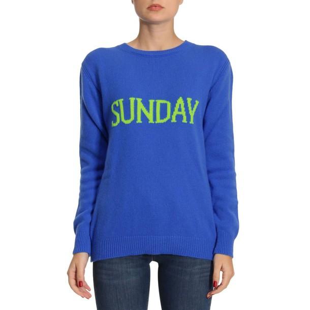 Alberta Ferretti sweater women blue