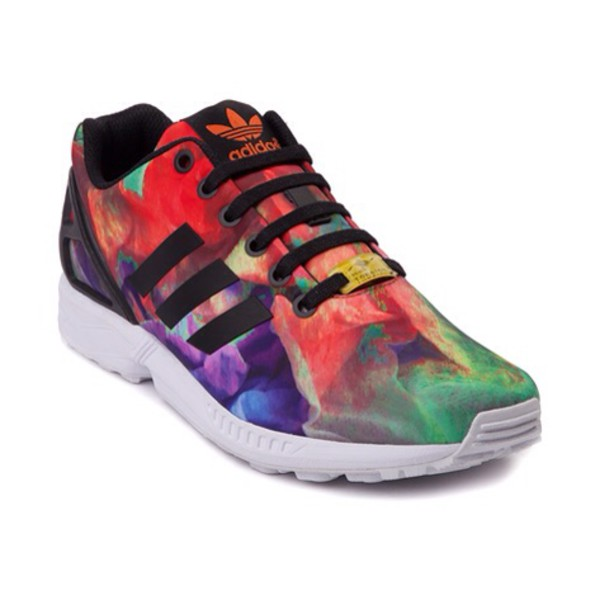 adidas rainbow shoes shoes multi coloured adidas