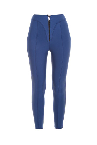 leggings blue pants