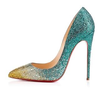 yellow high heels crystal high heels louboutin whit shoes whit crystal all i want crystal crystal shoes colorful blue high heels blue yellow yellow shoes high heels fashion style fansy white white high heels shoes
