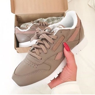 shoes nude sneakers nude reebok