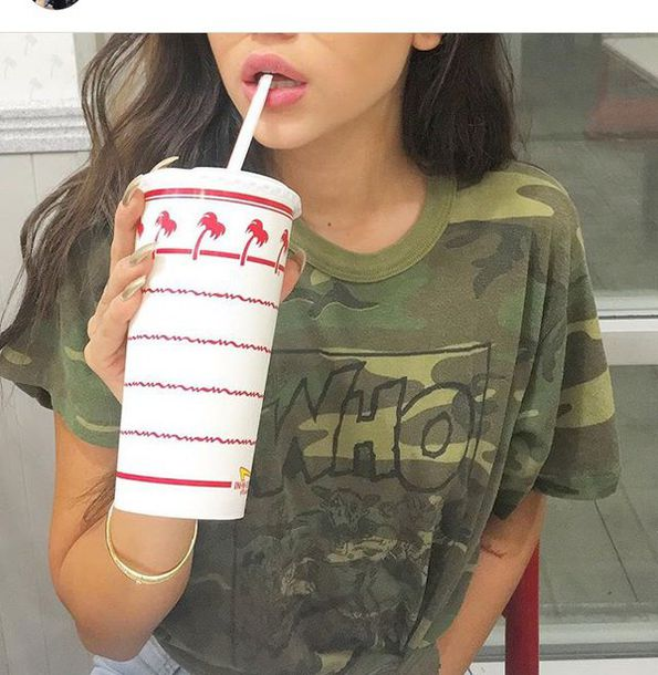 Top Camouflage Summer Celebrity Famous Fashion Toast Fashion Vibe Fashion Is A Playground ...