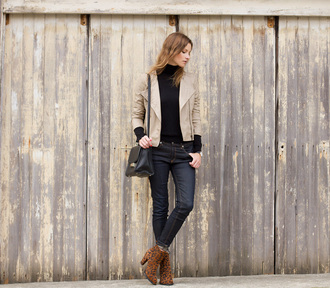 jacket blogger styling my life jeans bag