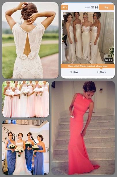 dress dress pink