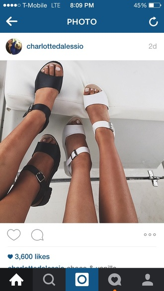 shoes charlotte dalessio sandals chunky sandals white shoes instagram chunky heels
