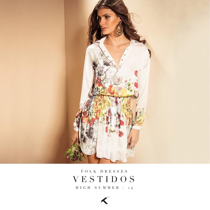 FOLK DRESSES - Moikana Moda Feminina