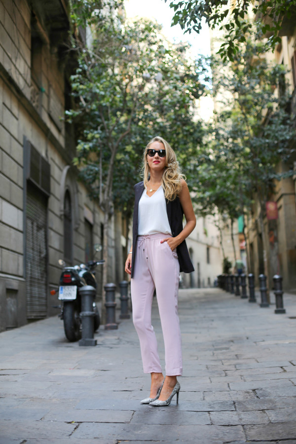the classy cubicle jacket top shoes jewels sunglasses