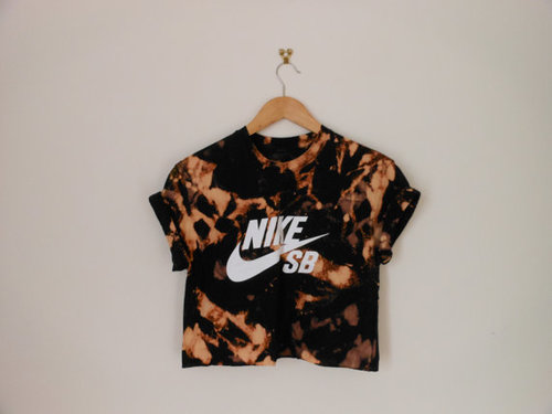 Group of: Unique nike SB acidwash stakergirl crop top by 0BubblegumBoutique0 | We Heart It