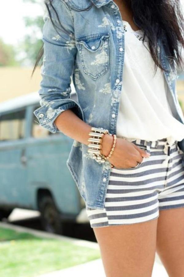 clothes t-shirt t-shirt denim jacket bracelets jacket