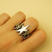 jewels,gothic ring,rock stars ring