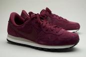 shoes,red suede nike pegasus air 83