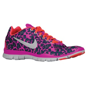 Nike Free TR Fit 3 Print - Women's - Training - Shoes - Club Pink/Armory Navy/Armory Slate/White