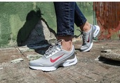 shoes,nike,air max jewell,silver,red,air max