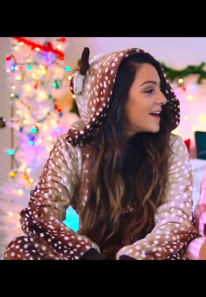 181f0a6eb3e6 jumpsuit onesie adult onesie christmas pyjamas pajamas deer