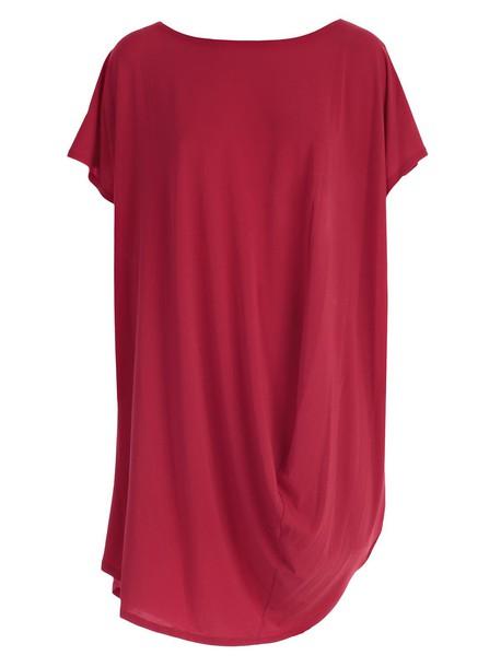 Issey Miyake dress red