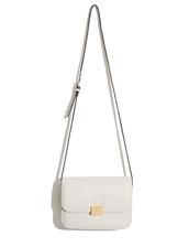 bag,white bag,crossbody bag,celine bag,boxy bag,shoulder body bag,everyday bag,ivory bag,mini box bag,pixie market,pixie market girl