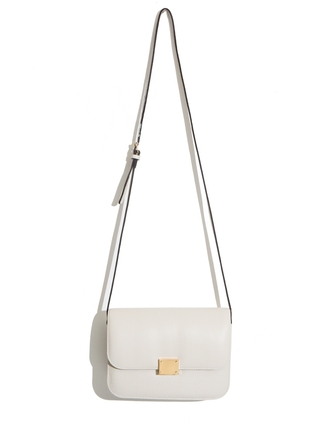 bag white bag crossbody bag celine bag boxy bag shoulder body bag everyday bag ivory bag mini box bag pixie market pixie market girl