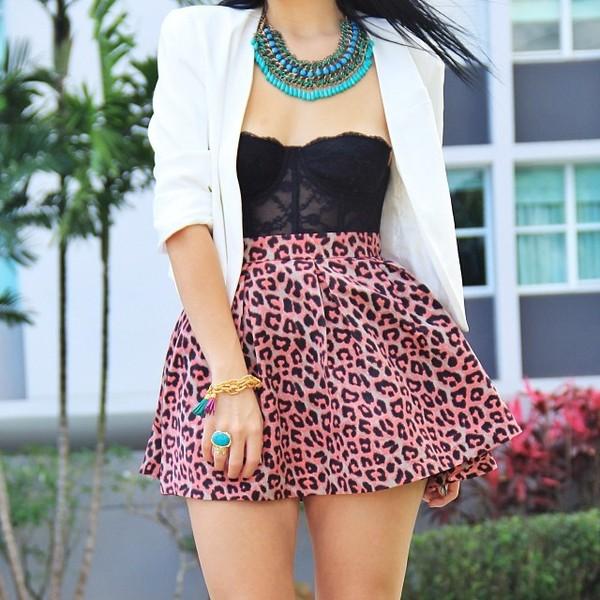 skirt outfit skater skirt forever 21 zara bustier ebay