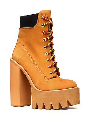 Jeffrey campbell boot the hbic exclusive in tan