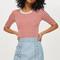 Star stud mini skirt - blue