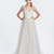 Paolo Sebastian 'Alexis' Lilac Lace V-neck Wedding Dress - Nearly Newlywed Wedding Dress Shop