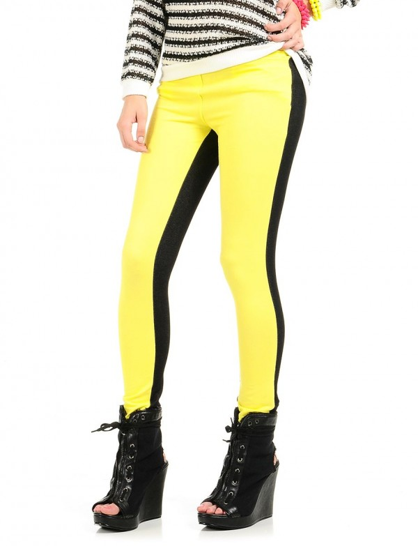 Lucid Neon Leggings Black Yellow - 401446 - Chic-Finder . Shop visually similar Pants from all the top brands.