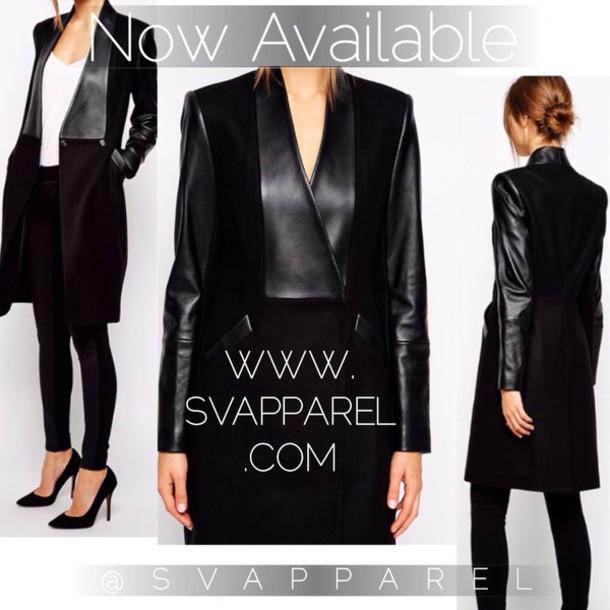 coat black bikini black boots black leather leather jacket leather coach purse leather coat winter coat trench coat