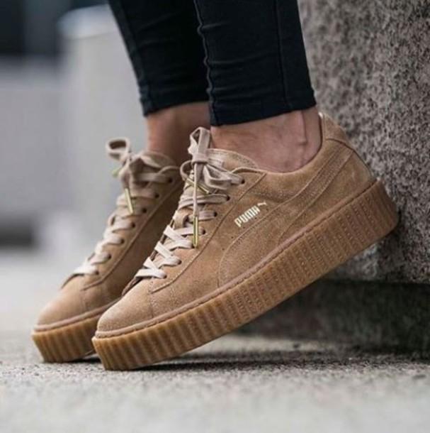shoes girl girly girly wishlist puma puma creepers