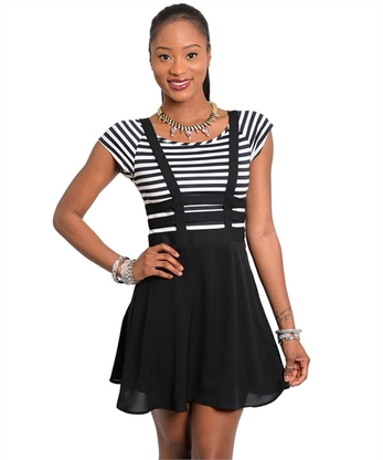 Cross Me Dress - Ashleigh Laura Boutique
