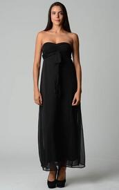 dress,maxi dress,black maxi dress
