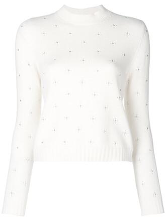 jumper women nude wool sweater