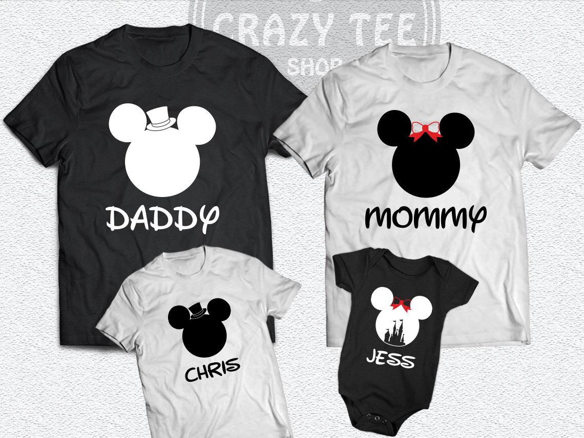 Personalized Disney Shirts For The Family Azərbaycan Dillər